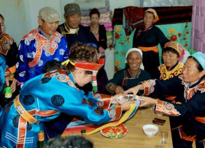 鄂温克族礼仪文化--订婚礼仪