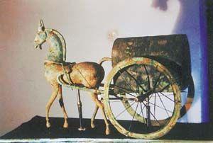 贵州东汉铜车马