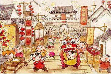 春节习俗概述之二