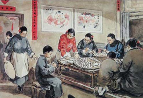 """春节—中国民俗节庆之首""""年""""的文化内涵"""