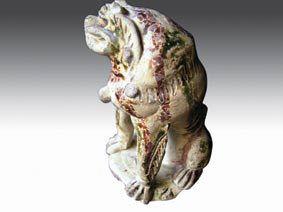 """中国古代陶瓷""""狮子""""浅谈"""