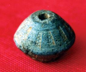 汉代印纹陶纺轮