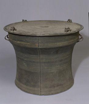 西盟型蛙饰铜鼓