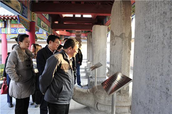 河南省文物局局长田凯一行调研郑州文物遗产保护情况