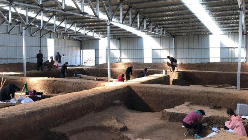 探访牛推官南遗址考古现场 距今约2500年