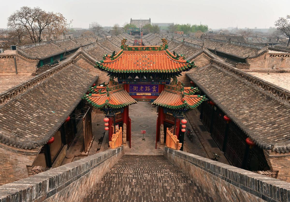 平遥古城再受海外关注 古城墙保护成典范