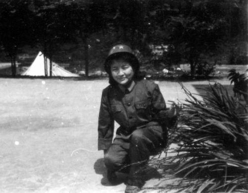 越战中的中国女兵