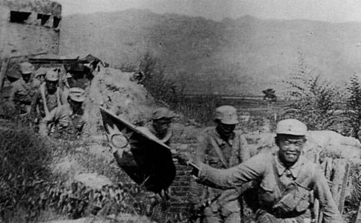二战时期八路军作战的老照片
