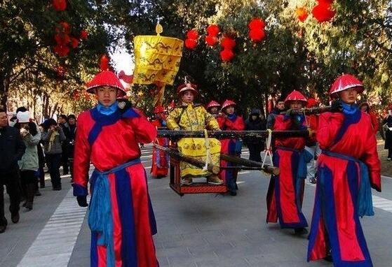 老北京的春节庙会