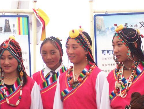 青海贵德藏区成年礼仪