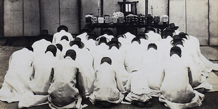 朝鲜族的丧葬习俗