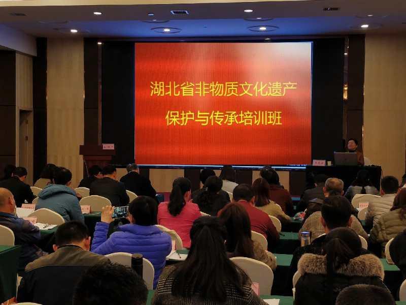 湖北省非物质文化遗产保护与传承培训班在汉开班
