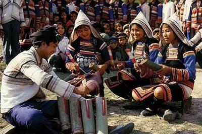 基诺族——打铁节