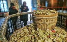 """天津一景点变成""""许愿池"""" 文物被纸币淹没"""