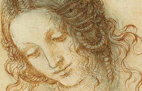 英国皇家收藏达·芬奇素描将在2019年展出