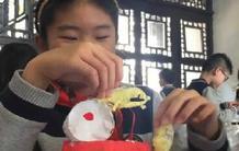 """500娃娃南京学""""非遗"""" 传承中华古老技艺"""