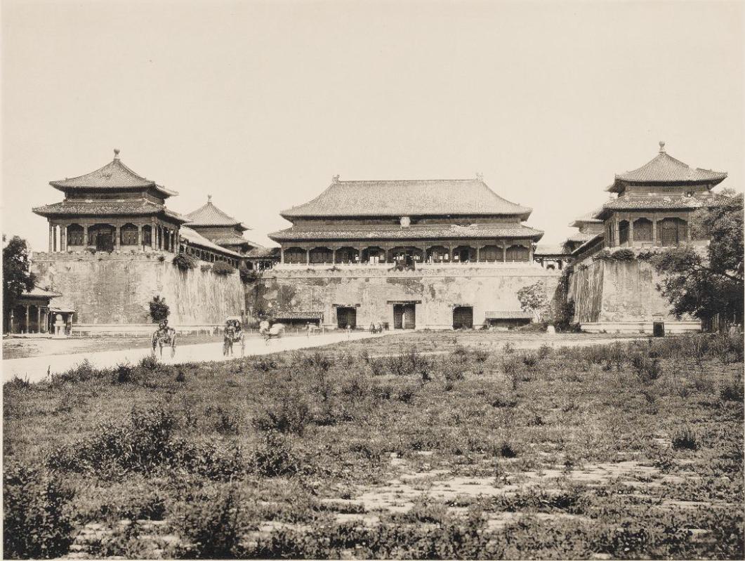 清朝末年帝都的真实风貌建筑-1906年