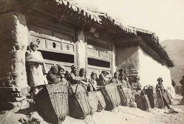 英国人拍1911年中国甘肃