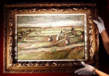 梵高油画将在巴黎拍卖 预计成交价约500万欧元