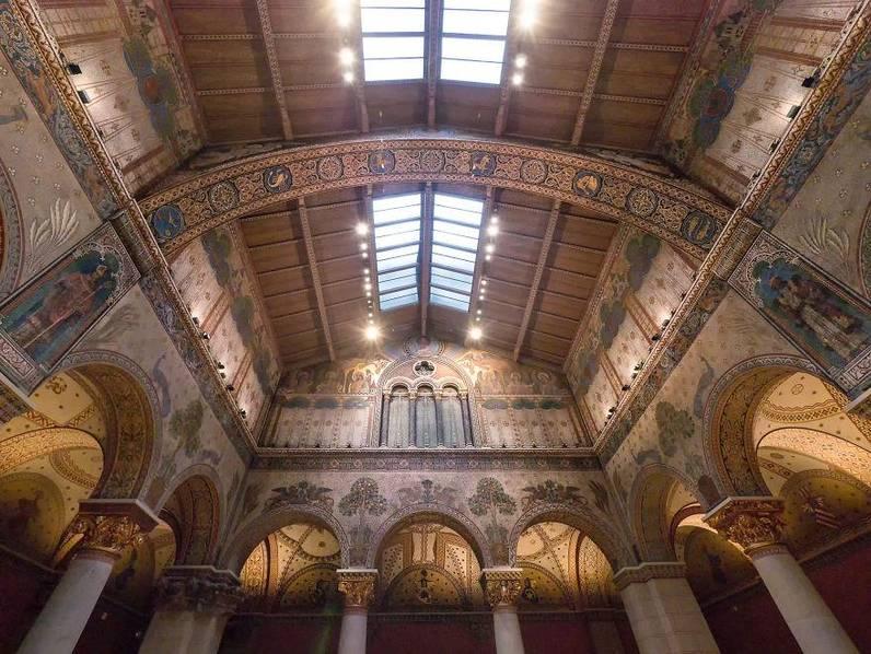 尘封数十年,匈牙利一利来国际娱乐中的罗马大厅重见天日