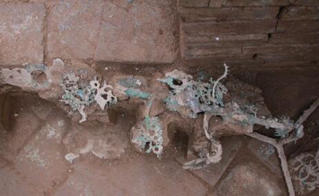 秦汉墓地现摇钱树 里面出土多种文物墓主人身份成谜