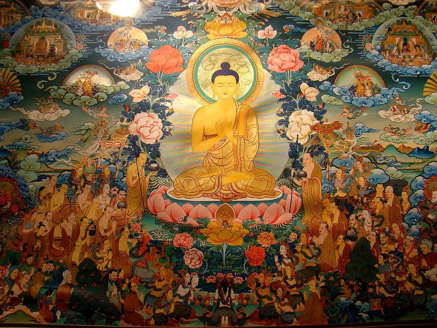 非物质文化遗产50余幅热贡唐卡在京展出
