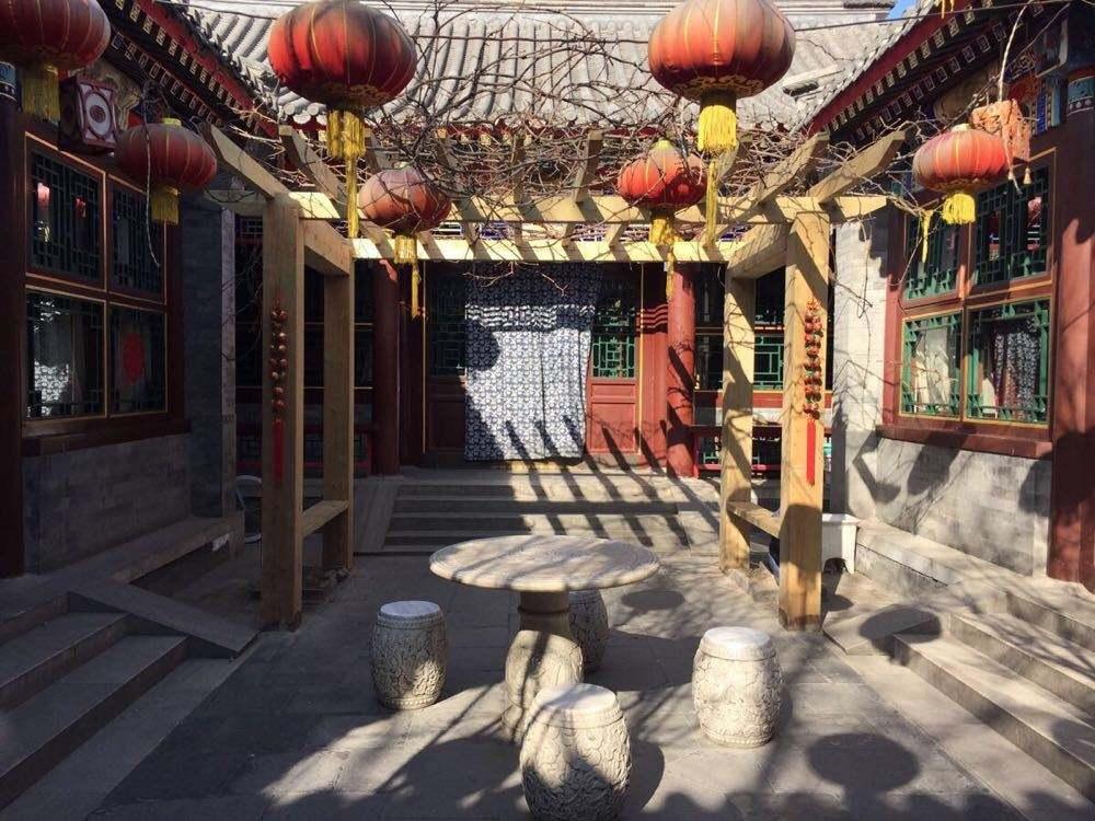 老北京的生活记忆:做门帘