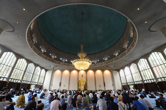 伦敦清真寺具有重要历史意义列为英国二级建筑遗址