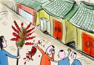 老北京的闹市:不花钱可以听戏听相声