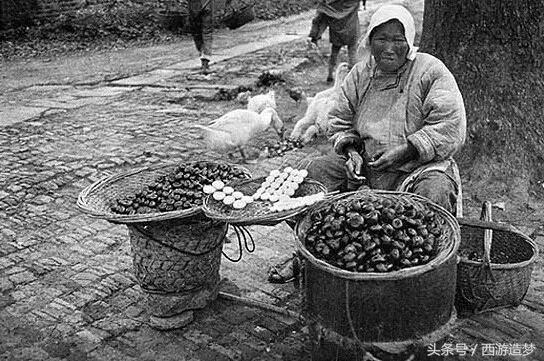 100年前的杭州市井