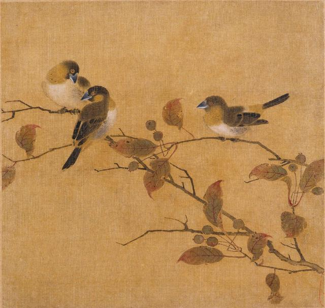 故宫博物院宋代花鸟画
