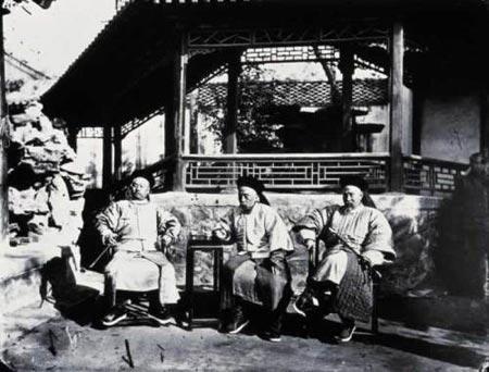 1871年总理衙门大臣照片