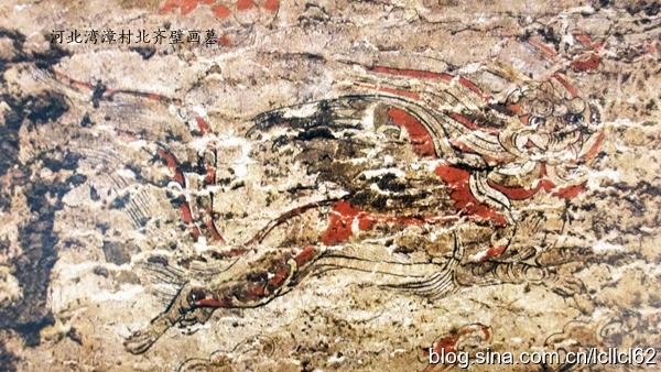 北齐高润墓壁画