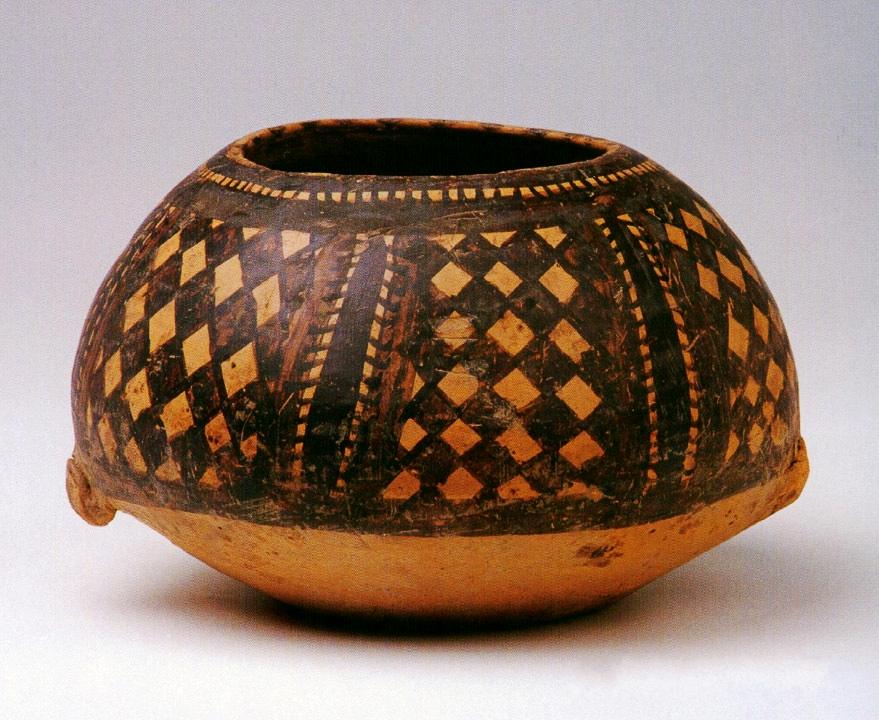 马家窑文化半山类彩陶