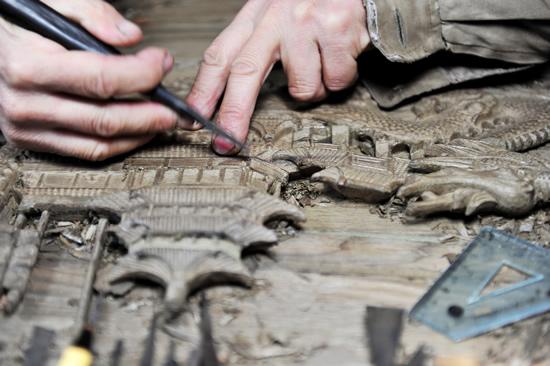 扬州木雕:刀尖上的艺术