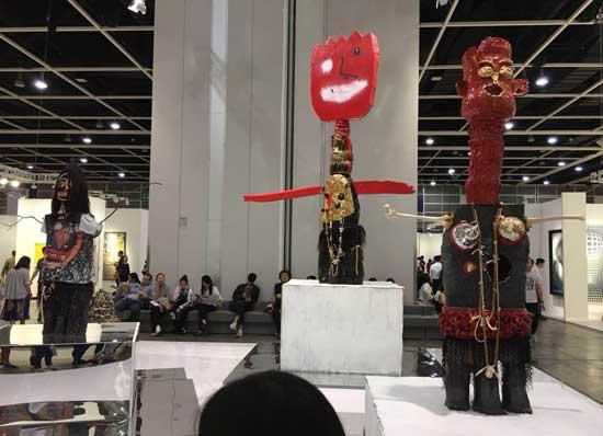 香港巴塞尔:杂货铺里的中国艺术梦