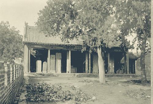 1907年的司马迁祠墓珍贵照