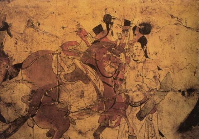 北齐娄睿墓壁画欣赏