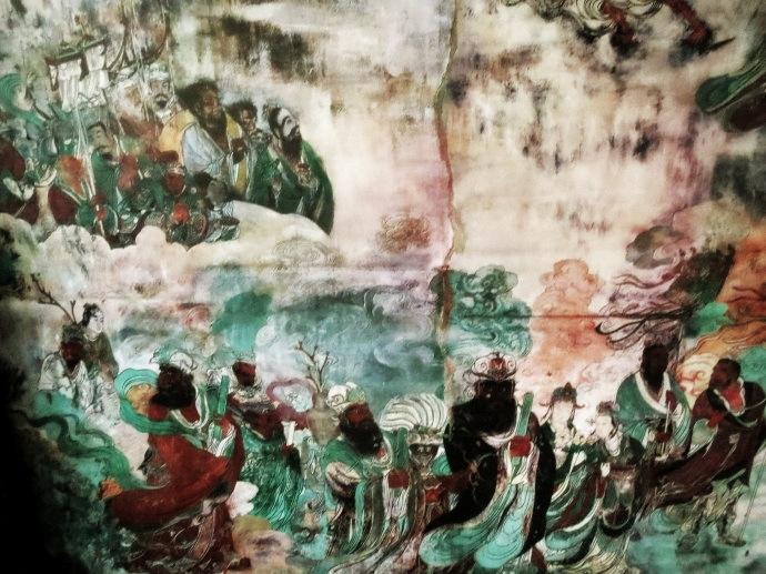 曲阳北岳庙壁画
