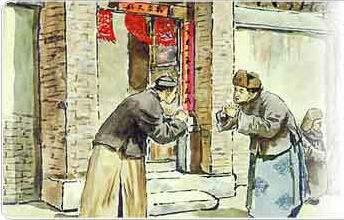 解读春节作揖礼节:右手握拳左手成掌谓之吉拜