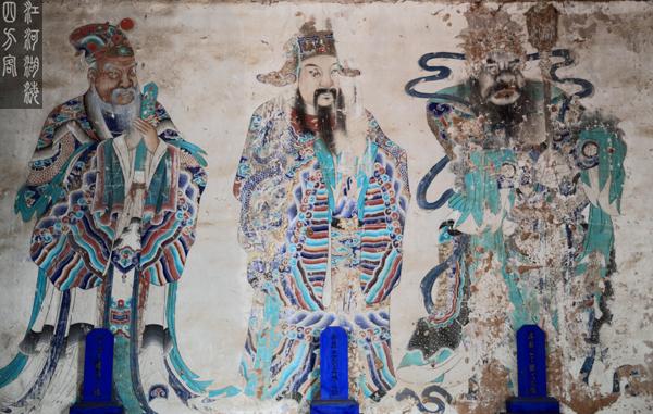 北镇庙壁画