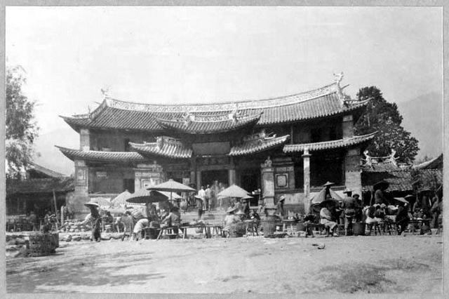 1922年的云南大理风情