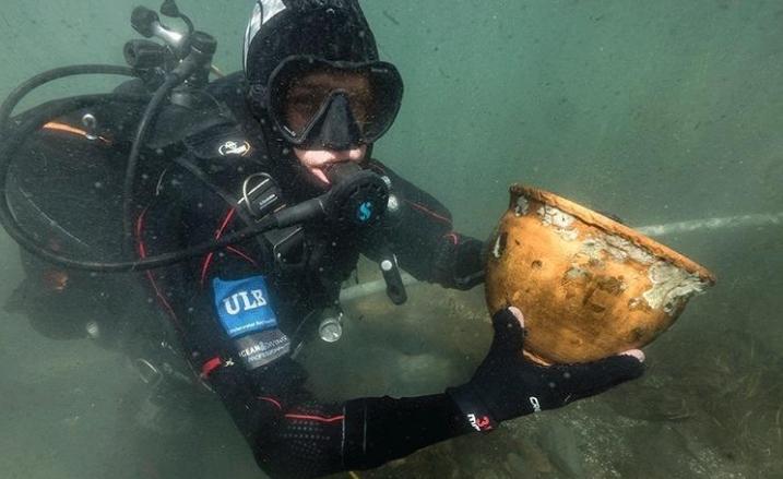 南美洲湖底获重大考古发现