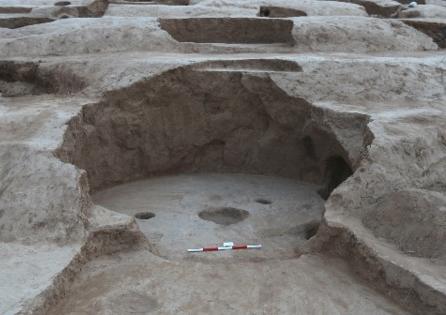 """靖边庙梁遗址考古取得重要收获 发现""""石峁文化"""" 前的文化遗存"""