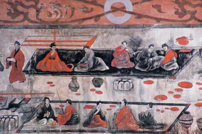 打虎亭汉墓壁画