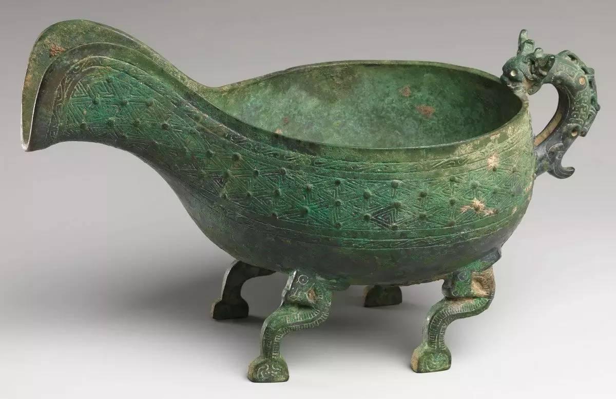 大都会艺术博物馆藏春秋战国青铜器