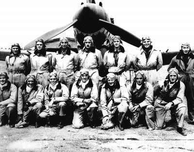 """""""飞虎队""""进入中国后的第一场战斗:实际上只击落了4架敌机"""