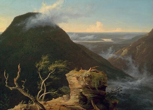 杰出风景画家托马斯?科尔的跨大西洋创作生涯