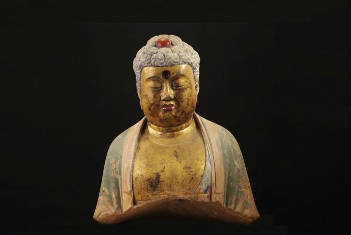 山西博物院隋唐石刻佛像