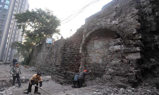 重庆又一段古城墙遗址启动修复